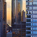 Sunset On Steel 3 by Leda Robertson