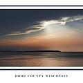 Sunset On Sturgeon Bay by Barbara Smith