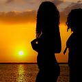Sunset On Tamarindo by Jim DeLillo
