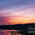 Sunset On Teeple Lake by Patrick Shupert