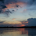 Sunset On The Amazon 3 by Allen Sheffield