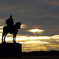 Sunset On The Battlefield by Scott Fracasso