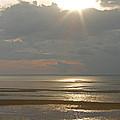 Sunset On The Bay by Jayne Carney