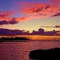 Big Island Sunset - Hawaii by Scott Carda