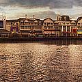 Sunset On The Boardwalk Walt Disney World by Thomas Woolworth