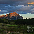Sunset On The Butte by Kelly Black