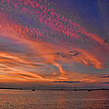 Sunset On The Causeway by Brian  Metski