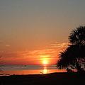 Sunset On The Florida Gulf by Susan Wyman