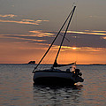Sunset On The Gulf by Bill Cannon