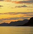 Sunset On The Gulf Of Alaska by Claudio Bacinello