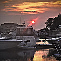 Sunset On The Island by Deborah Klubertanz