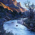 Sunset On The Watchman by Priscilla Burgers