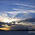 Sunset On Uyuni Salt Flats by Christina Gupfinger