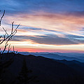 Sunset On Water Rock Knob Blue Ridge Parkway Scenic Photo by Rob Travis