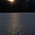 sunset over Alaska by Sophie Vigneault