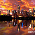 Sunset Over Austin by Randy Smith