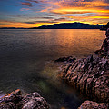 Sunset Over Bowen Island by Alexis Birkill