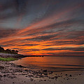 Sunset Over Buzzards Bay by Jonathan Steele