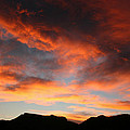 Sunset Over Estes Park by Angie Schutt