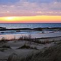 Sunset Over Ice by Linda Kerkau