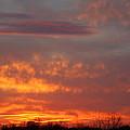 Sunset Over Iowa by Laurel Gillespie