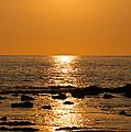 Sunset Over Kona by Christi Kraft