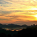 Sunset Over Lake Wohlford by Sharon Tate Soberon
