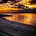 Sunset Over Little Assawoman Bay by Bill Swartwout Fine Art Photography