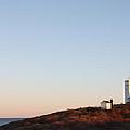 Sunset Over Montauk Lighthouse by John Telfer
