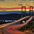 Sunset Over Narrows Bridges by Rob Green
