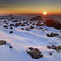 sunset over National park Sierra Nevada by Guido Montanes Castillo