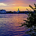 Sunset Over New Orleans 1 by Her Arts Desire
