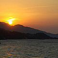 Sunset Over Samos by Christiane Schulze Art And Photography