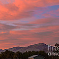 Sunset Over Squaw Butte by Robert Bales