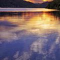 Sunset Over The Arkansas River by Jason Politte