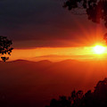 Sunset Over The Blue Ridge Mountains by Al Petteway & Amy White