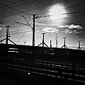 Sunset Over The Bridge by Jozsef Torsan