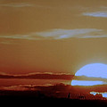 Sunset Over The Field by Colette V Hera  Guggenheim