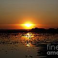 Sunset Over The Lake 3 by Loic  GIRAUD