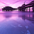 Sunset Over The Pier by Mihai Andritoiu