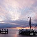 Sunset Over The Senseless Fernandina Beach Florida by Dawna Moore Photography