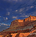Sunset Over The Waterpocket Fold Capitol Reef National Park by Dave Welling