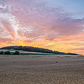 Sunset Over Wheat by Ray Sheley