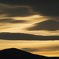 Sunset Painted Hills John Day Nm Oregon by Kevin Schafer
