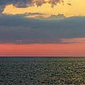 Sunset Panorama Over Atlantic Ocean by Elena Elisseeva