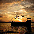 Sunset Pirate Cruise by Mark Miller