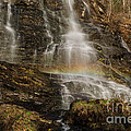 Sunset Rainbow At Amicalola Falls by Donna Brown