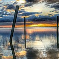 Sunset Reflections by Jeannine Rose