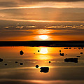 Sunset Reflections by Leland D Howard