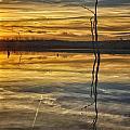 Sunset Riverlands West Alton Mo Dsc03317 by Greg Kluempers